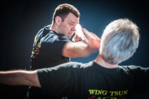 Wing Tsun Freistil Poing